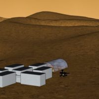 Sustainable Habitat on Martian Environment